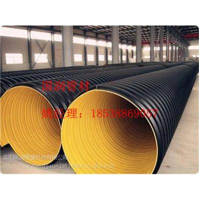国润-HDPE钢带波纹管简介 地下排水管