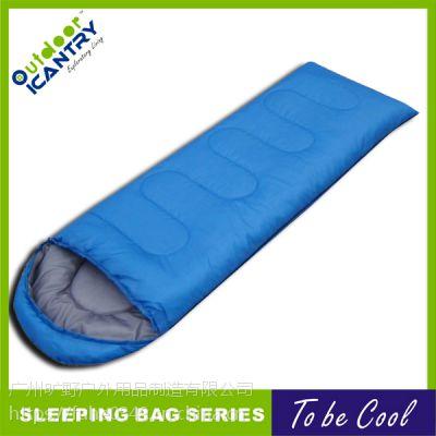 旷野户外 露营 成人 信封睡袋亲肤舒适保暖 春夏款