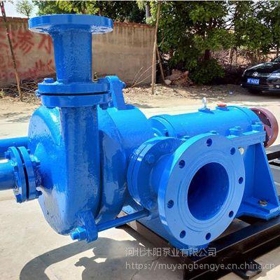 沐阳泵业供应4寸压滤机入料泵125ZJW-II尾矿泥浆处理加压泵压滤机给料专用泵
