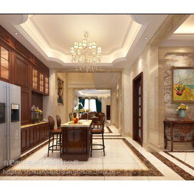 大富鸿墅412平方欧式风格装修效果图半包报价37万
