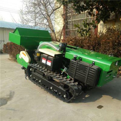 佳鑫自走式多功能施肥机 35马力履带回填机 农用微耕机价格