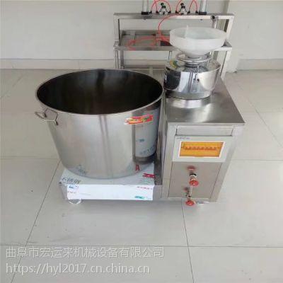 大型豆腐机生产厂家 一台全自动的花生豆腐机多少钱