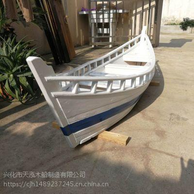 定制乌篷船手工木船出售