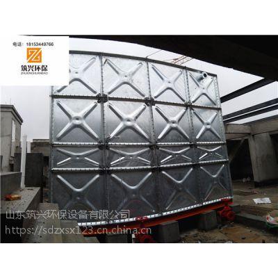 镀锌水箱 热镀锌钢板水箱