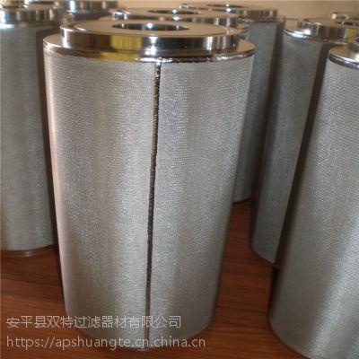 定做不锈钢304烧结网滤芯1-200微米10寸2微米滤芯