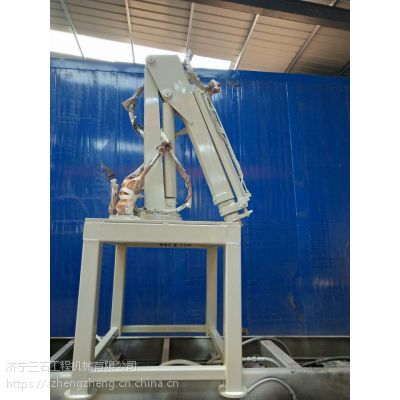 山东济宁随车吊生产厂家 1.2吨折臂吊 随车吊 带载伸缩臂 工作效率更高