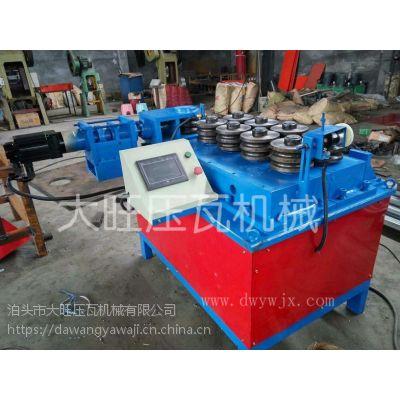 收售新旧设备大棚弯管机,压扁冲孔机设备