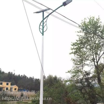 承运太阳能路灯6米30WLED家用太阳能灯户外高杆灯新农村庭院灯超亮景观灯可定制