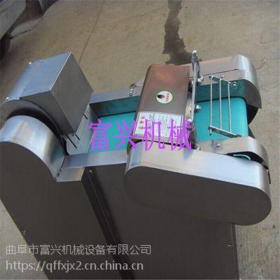 电动新型不锈钢切菜机型号 多功能富兴小型切菜机厂家