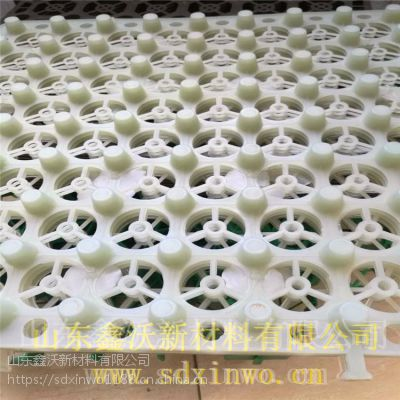 绿化用鑫沃塑料凹凸排水板 HDPE蓄排水板