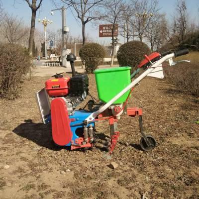 苞米新式除草机 新式施肥播种机 独轮式汽油菜园犁地机志成