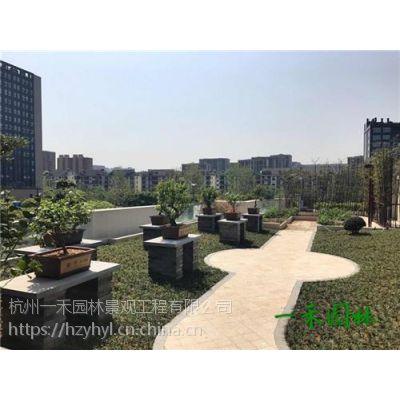 一禾园林(图),露台花园设计,绍兴露台花园