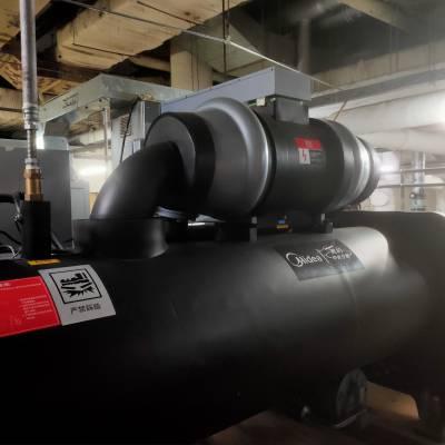 开利地源热泵机组进水维修,压缩机噪音大维修