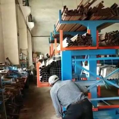 金属薄板储存储库房 抽屉式货架定做 广州货架厂家 型材存放方法