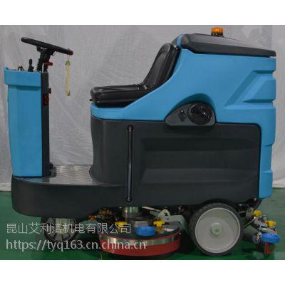 大型驾驶式洗地机,坐在上开的洗地吸干机,洁优德拖地机