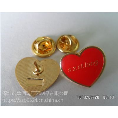 日照制作金属徽章厂家潍坊校园胸针及纯银胸章订做