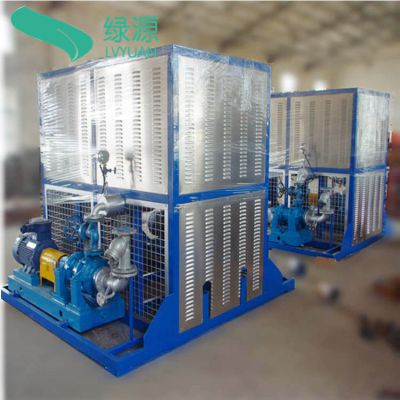江苏绿源厂家供应冷却式电加热导热油炉导热油炉带列管式水冷