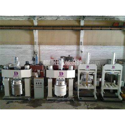 1100升强力分散机 中性硅酮玻璃胶生产设备 邦德仕厂家