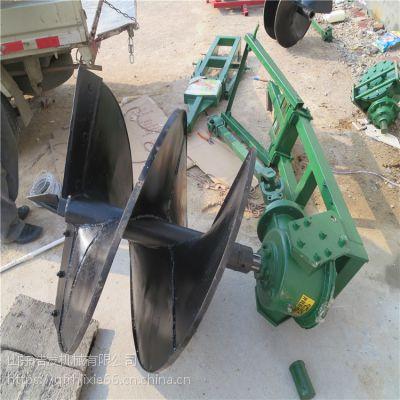 大功率植树挖坑机价格 单人手提式钻眼机