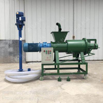 锦州干湿粪便分离机厂家直销 10立方粪便脱水机