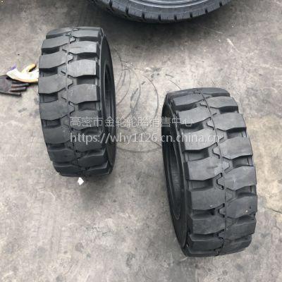 现货 23X9-10 工业实心橡胶轮胎 叉车专用轮胎 耐磨防滑电话15621773182