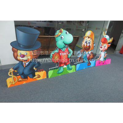 深圳圣诞节装饰 物料服务 POP立牌制作 铁架安装