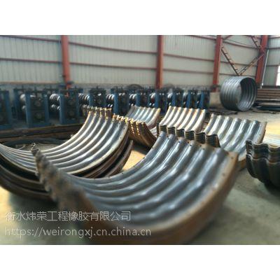 钢波纹管生产厂家 桥梁公路专用金属波纹管涵供货价