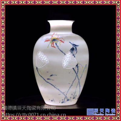 陶瓷灯具景德镇 中式陶瓷灯具 吸顶灯 仿古陶瓷灯具 中式
