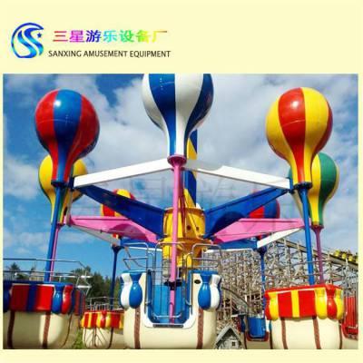 户外公园儿童游乐设施桑巴气球新款游乐项目