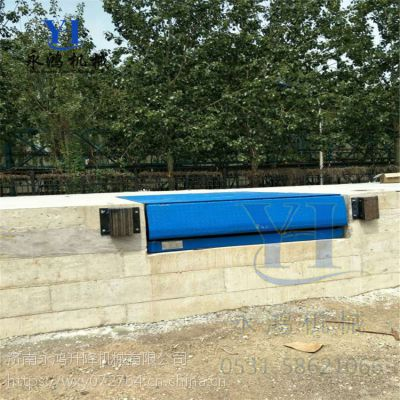 潍坊厂区用10吨斜坡叉车卸货桥,固定集装箱登车桥价格,用途