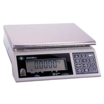 广东深圳英展高精度电子桌秤。精准称量,液晶显示。