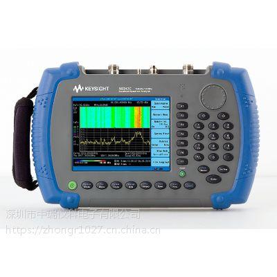 现货出安捷伦Agilent N9343C 手持式频谱分析仪(HSA)