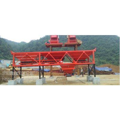 广西北流天旺1600型分体组合结构四仓配料设备