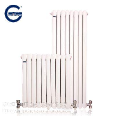 春光 钢制散热器 家用钢二柱暖气片 钢 制柱式 钢二柱散热器