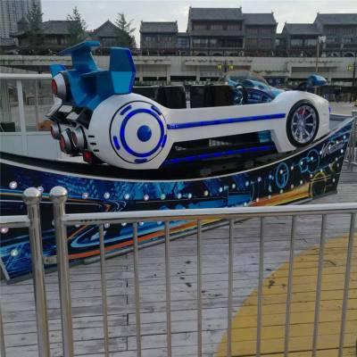 九座赛车款极速飞车游乐设备,炫彩漂移飞车,厂家定做宝马飞车