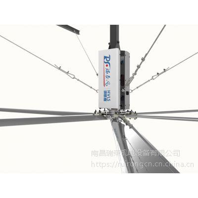 瑞泰风工业大风扇帮助大型工厂企业解决高温车间通风降温难题
