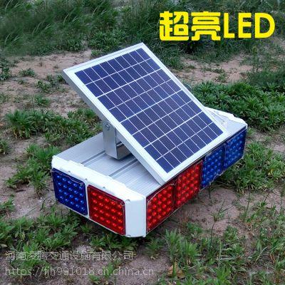 河南LET太阳能爆闪灯交通信号灯