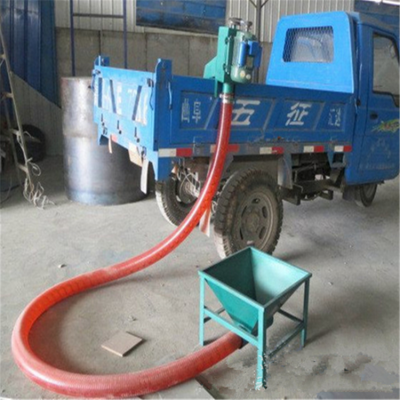 车载吸粮机工作原理防尘 水泥粉输送机