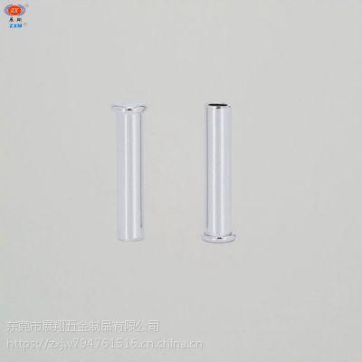 精密厂家专业定制螺丝螺母铝铆钉平头半空铆钉非标紧固件机械零件