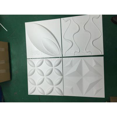 东莞厚片吸塑加工厂 大片厚片成型墙板生产加工