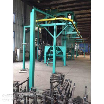 抛丸机 悬链式铸铁除焊除锈清理机