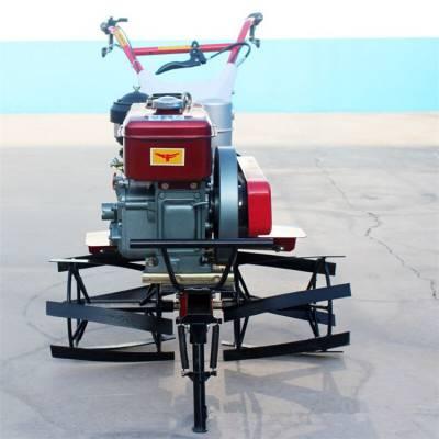 硬土起垄机效果好富兴-河北小型旋耕机翻土机-田园管理机开沟培土机