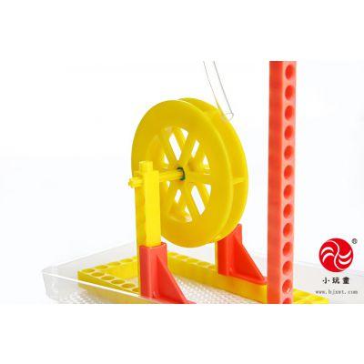 幼教玩具-科学水轮车实验