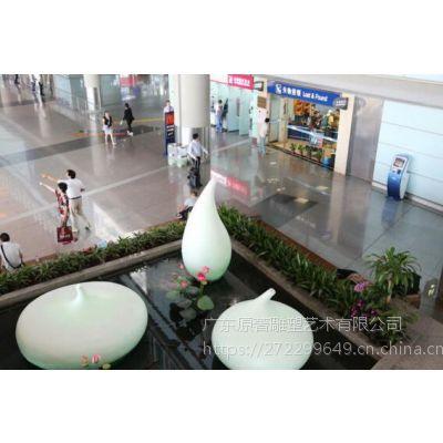 美陈展览艺术摆件玻璃钢洋芋造型雕塑东莞雕塑设计公司订制