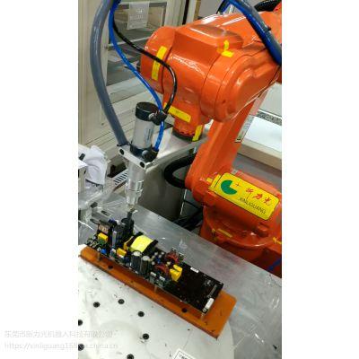 国产点胶机器人,国产机器人厂家,新力光点胶机器人