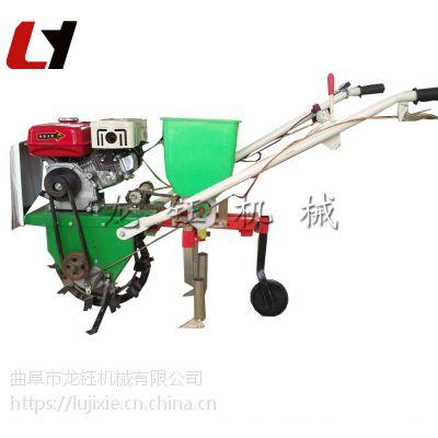 黄豆播种机 汽油式施肥追肥器