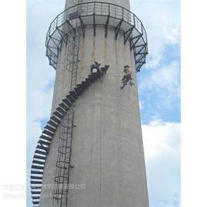 锅炉烟囱安装烟气环保检测平台施工-技术领先、品质保证