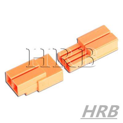 HRB 供应UL/CSA led灯具连接器_鸿儒橙色筒灯连接器