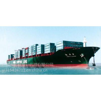 佛山到厦门的集装箱内贸往返海运专线运输