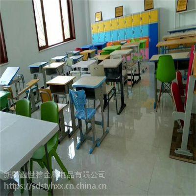 昌吉 板式学生课桌椅 升降学生课桌椅 厂家直销